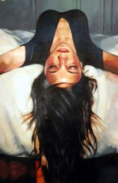 "Saatchi Online Artist: thomas saliot; Oil, Painting ""Up side down"""