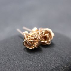 Organic Love Knot Earrings