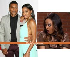 MTO SHOCK EXCLUSIVE: Actress Keke Palmer And Tia Mowry's Husband CORY HARDRICT . . . Were Spotted CANOODLING . . . On The Set Of Their New MOVIE!!
