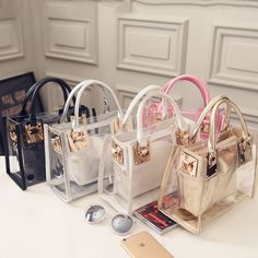 Cheap fashion shoulder bags, Buy Quality shoulder bags directly from China messenger bag Suppliers: Fashion Women Clear Transparent Shoulder Bag Jelly Candy Summer Beach Handbag Messenger Bags Hermes Handbags, Louis Vuitton Handbags, Fashion Handbags, Tote Handbags, Purses And Handbags, Fashion Bags, Fashion Women, Luxury Handbags, Cheap Handbags
