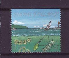 Finnland Nr. 1620 ** Segelboot Natur Fische Meeresbewohner in Briefmarken, Europa, Finnland | eBay