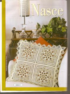 Ivelise Hand Made: In Lindas Crochet Pillows!