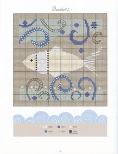 Gallery.ru / Фото #5 - 66 - Viki-Kitti Mermaid Cross Stitch, Cross Stitch Sea, Cross Stitch Needles, Cross Stitch Charts, Cross Stitch Designs, Cross Stitch Patterns, Cross Stitching, Cross Stitch Embroidery, Embroidery Patterns