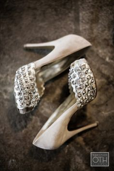 What Would Khaleesi Wear?Diamond-Encrusted Scaled Wedding Shoes