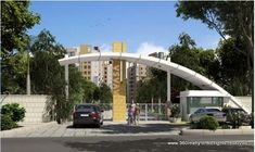 AVASA township project indore entrance gate from ab road