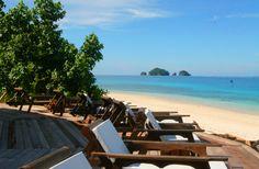 Tropical beach in the Mentawais