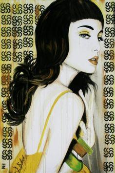 glamour n graffiti, Emma Sheldrake