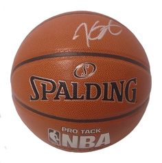 Kevin Durant Autographed Spalding NBA Indoor / Outdoor Basketball, Proof