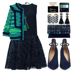 """""""(Pls. read desc!) Make An Impression"""" by beautifully-eclectic ❤ liked on Polyvore featuring Lattori, Lanvin, M Missoni, Christian Louboutin, NOVICA, Etro, Shiseido, Dolce&Gabbana, women's clothing and women"""