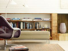 """Arzu Modern Collection, Pattern """"Light"""". Shown with SW_1 Lounge and Millbrae Contract Bench"""