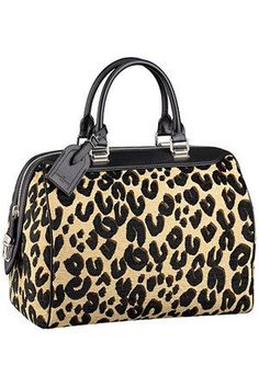 Louis Vuitton Leopard Speedy Bag.....one of my prized possessions!!