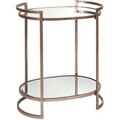Ancona Mirror Accent Table