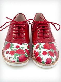 brand new f2cb2 50c16 saddle shoes with flowers