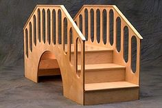 Under and over walking/crawling bridge for infant toddler room Montessori
