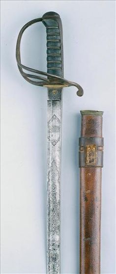 Wilkinson 1821 pattern Light Cavalry Officers Sword to the 9th Lancers