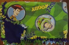 Toy Story (2yd) Handmade Fleece Blanket by KnotMyStyleBoutique on Etsy