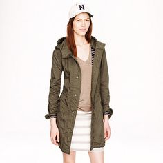 Fatigue jacket - cotton jackets - Women's Outerwear & Blazers - J.Crew. I LIVE IN THIS!