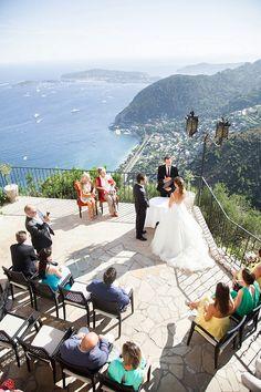 South of France Chateau Eza Wedding - French Wedding Style Wedding Locations, Wedding Venues, Wedding Ceremony, Wedding Places, Diy Wedding, Wedding Favors, Wedding Decorations, Wedding Sitting Plan, Lake Garda Wedding