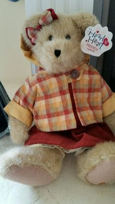 "Boyds Heart to Heart Friends ""Kylie"" Series Bear Boy Girl Women Teddy #AllOccasion"