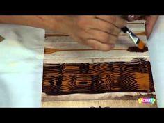 Acrilex - Técnicas - Como utilizar Betume Colors
