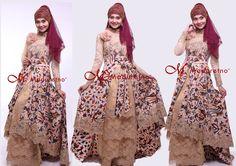 Kebaya Modern Batik Tulis brocade berpayet http://nelyafifi.com sms/wa 0821.4284.5152