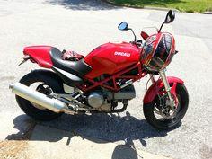 My 2005 Ducati Monster 620!