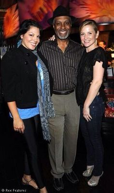 Jessica Capshaw / Sara Ramirez / James Pickens Jr