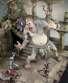 Bring Down the Beast 1/35 Scale Model Diorama