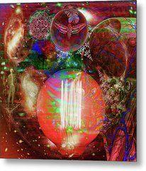 Light Of Man Multidimentional Sight Metal Print by Joseph Mosley