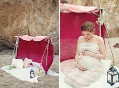 Pregnancy photography | El Matador beach, California » Anokiart Photography. Styled by Purple Meadows Events.