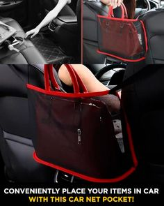 Purse Storage, Car Storage, Cool Gadgets To Buy, Car Gadgets, Car Hacks, Cool Inventions, Useful Life Hacks, Car Cleaning, Cool Things To Buy