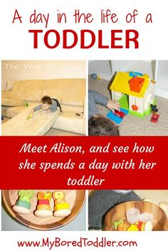 A day in the life of a toddler, Alison