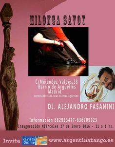 Madrid: Milonga Savoy