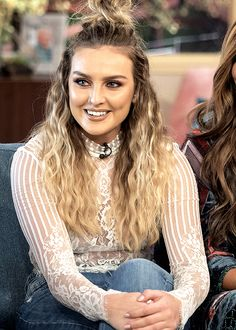 little mix, perrie edwards, and jesy nelson afbeelding
