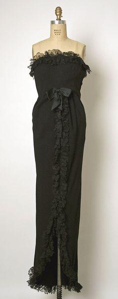 Dress, Evening  1962
