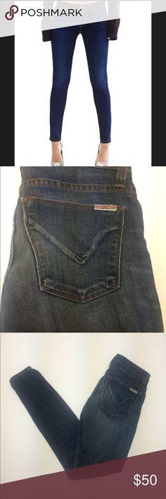 "Hudson Krista Super Skinny Jeans Hudson ~ ""Krista"" super skinny ~ Size 25 ~ Approx. 29"" inseam ~ Approx. 7"" rise Hudson Jeans Jeans Skinny"