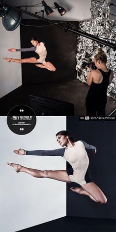 Featured by Famous BTS Magazine. Captured in mid-flight, The BTS (Behind the scenes) image & the final result have been featured on Famous BTS Magazine's Instagram Page. The BTS/Final Result Combo is a collaboration between BTS Photographer Grant Friedman and NYC Photographer/Director Sarah Silver while on set with Stephen Petronio Company, acclaimed choreographer Stephen Petronio's contemporary dance company.