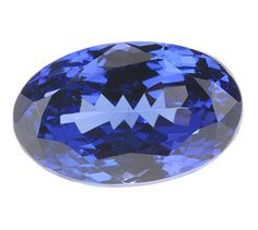 A truly stunning Tanzanite, perfect sized ring stone. A royal Burma blue color in daylight with strong hints of purple. Nice flashes of pink and red hints under the right incandescent light.Excellent