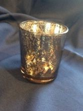 Set of 60 Gold Mercury Glass Votive Candle Holders Recycled Wedding Decorations, Recycle Your Wedding, Glass Votive Candle Holders, Mercury Glass, Wedding Inspiration, Candles, Gold, Candy, Candle Sticks