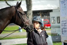 Love!! MIRANDA & HER HORSE ROSSO