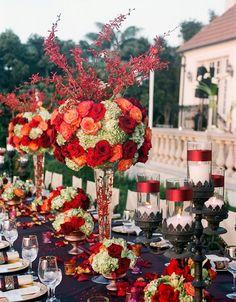 Beautiful Reception Flowers