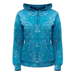 Frosted Women's Zipper Hoodie        Made from: 100% Polyester     Quality YKK zipper     Adjustable drawstring hood     Standard Fit     Machine Washable