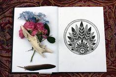 Sketchbook: Stolen flowers