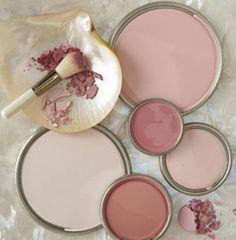53 Blush Living Room To Copy Today - Home Decoration - Interior Design Ideas Deco Rose, Room Colors, Pink Paint Colors, Blush Pink Paint, Color Pallets, My New Room, Colour Schemes, Color Inspiration, Bunt