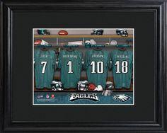 Philadelphia Eagles  Locker Room Photo