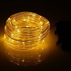 Binzet battery operated string lights 66 leds on 5 meters flexible binzet battery operated string lights 66 leds on 5 meters flexible silver wire with wireless remote controlcool white waterproof you can get add aloadofball Choice Image