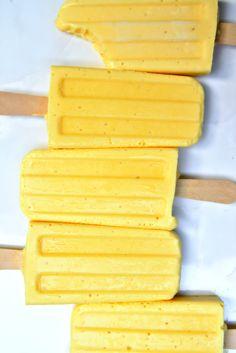 Mango Tango Popsicles | La Pêche Fraîche