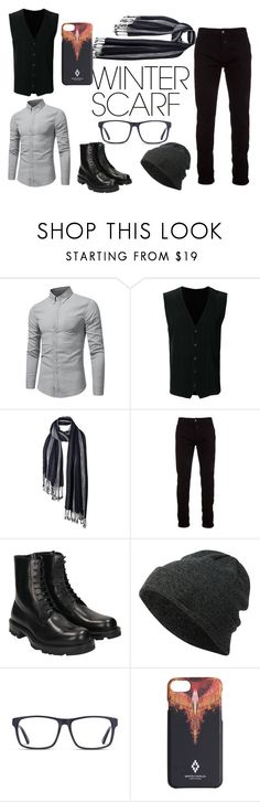 """Untitled #75"" by princesskitty325 on Polyvore featuring Homme Plissé Issey Miyake, Fat Face, Marcelo Burlon, Jil Sander, Neff and winterscarf"