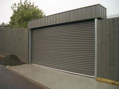 If you 39 re painting your door a rich red shade why not do for Free standing garage