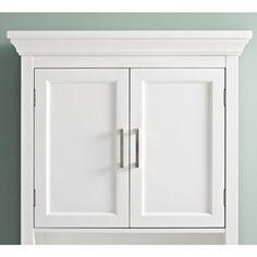 Wyndenhall Hayes White Bathroom Space Saver Cabinet 17759916 Overstock Great Deals On Wyndenhall